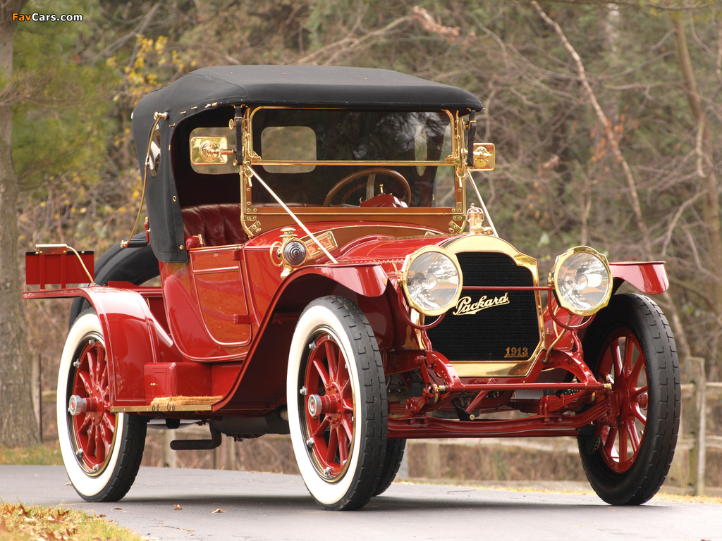 Pictures of Packard Six Runabout (1-38) 1913 (1024 x 768)