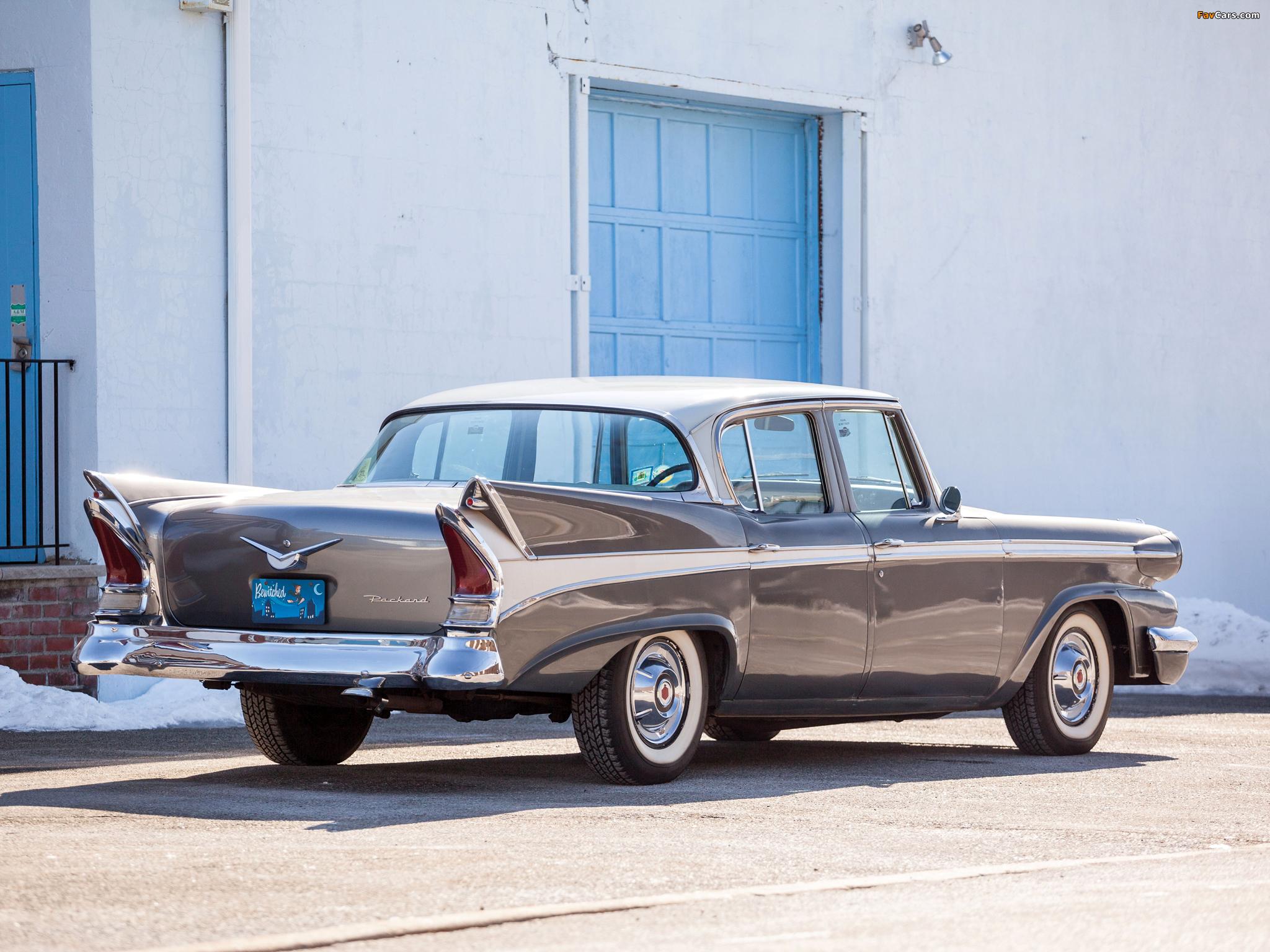 Packard Sedan (58L-Y8) 1958 images (2048 x 1536)