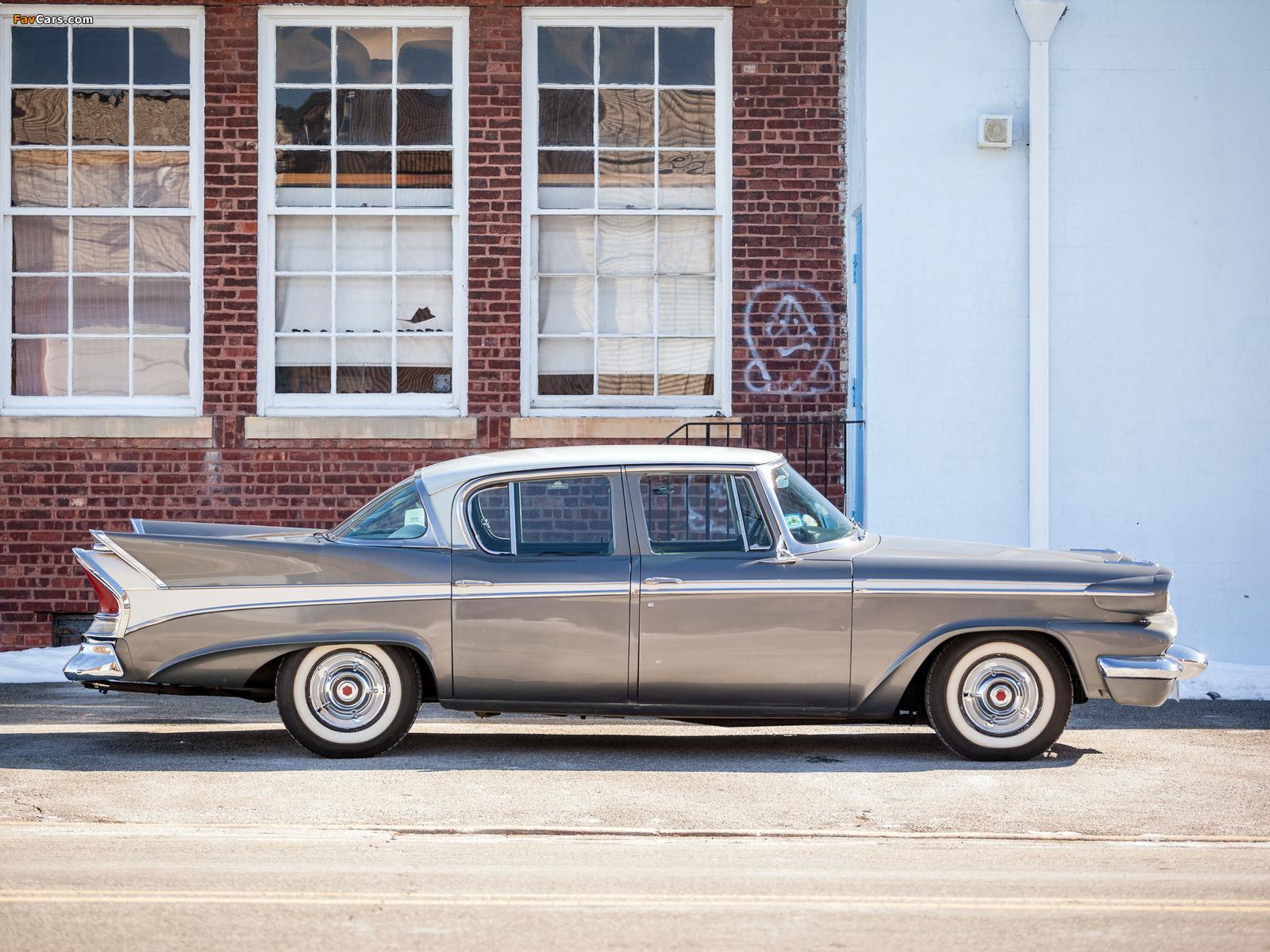 Packard Sedan (58L-Y8) 1958 images (1600 x 1200)