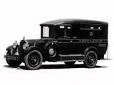 Packard Six Comissary Ambulance (433) 1927 photos