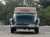 Packard Six Convertible (115-C) 1937 pictures
