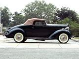 Packard Six Convertible (115-C) 1937 wallpapers