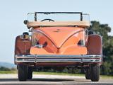 Packard Speedster Eight Boattail Roadster/Runabout (734-422/452) 1930 photos