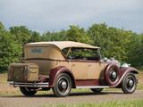 Packard Standard Eight Sport Phaeton (833-481) 1931 photos
