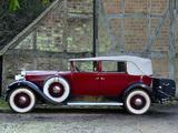 Packard Standard Eight Convertible Sedan (833-483) 1931 wallpapers