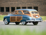 Pictures of Packard Standard Eight Station Sedan (2301-2393) 1950