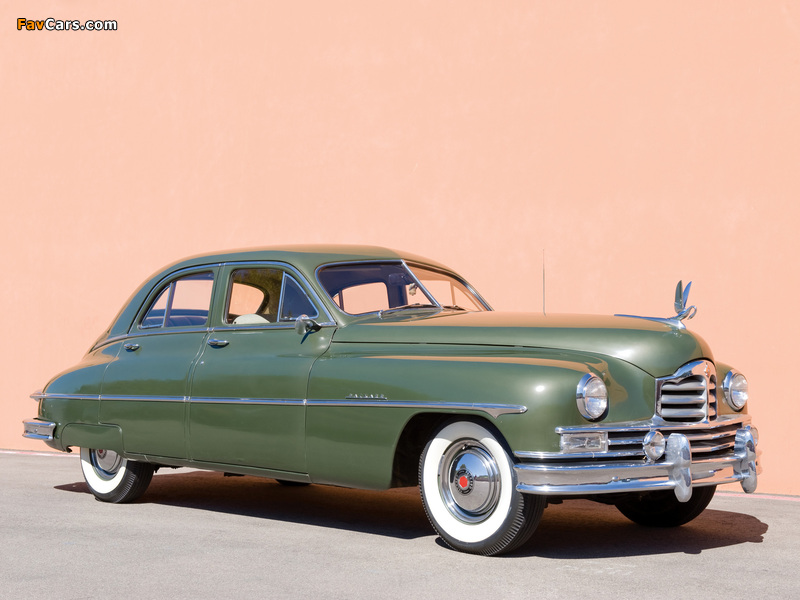 Packard Super Deluxe Eight Touring Sedan 1949 photos (800 x 600)