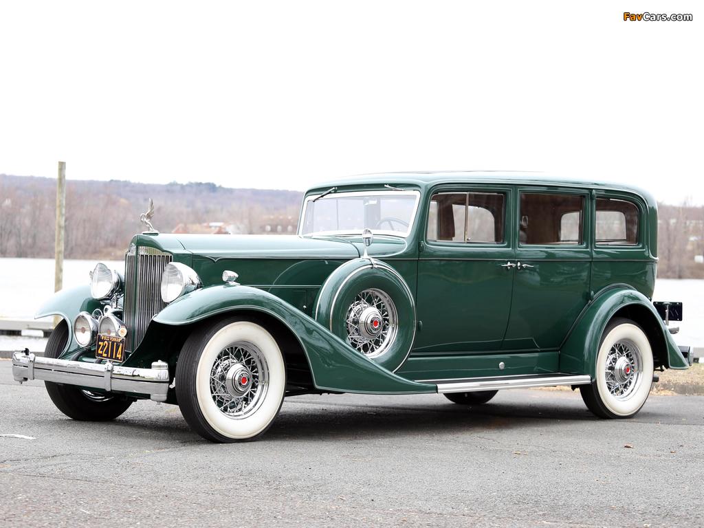 Images of 1933 Packard Super Eight 7-passenger Sedan (1004-654) 1933 (1024 x 768)