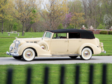 Images of 1938 Packard Super Eight Convertible Sedan (1605-1143) 1937–38