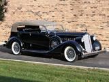 Packard Super Eight Dual Cowl Phaeton (1404-951) 1936 wallpapers