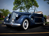 Packard Super Eight Convertible Victoria (1007) 1937 pictures