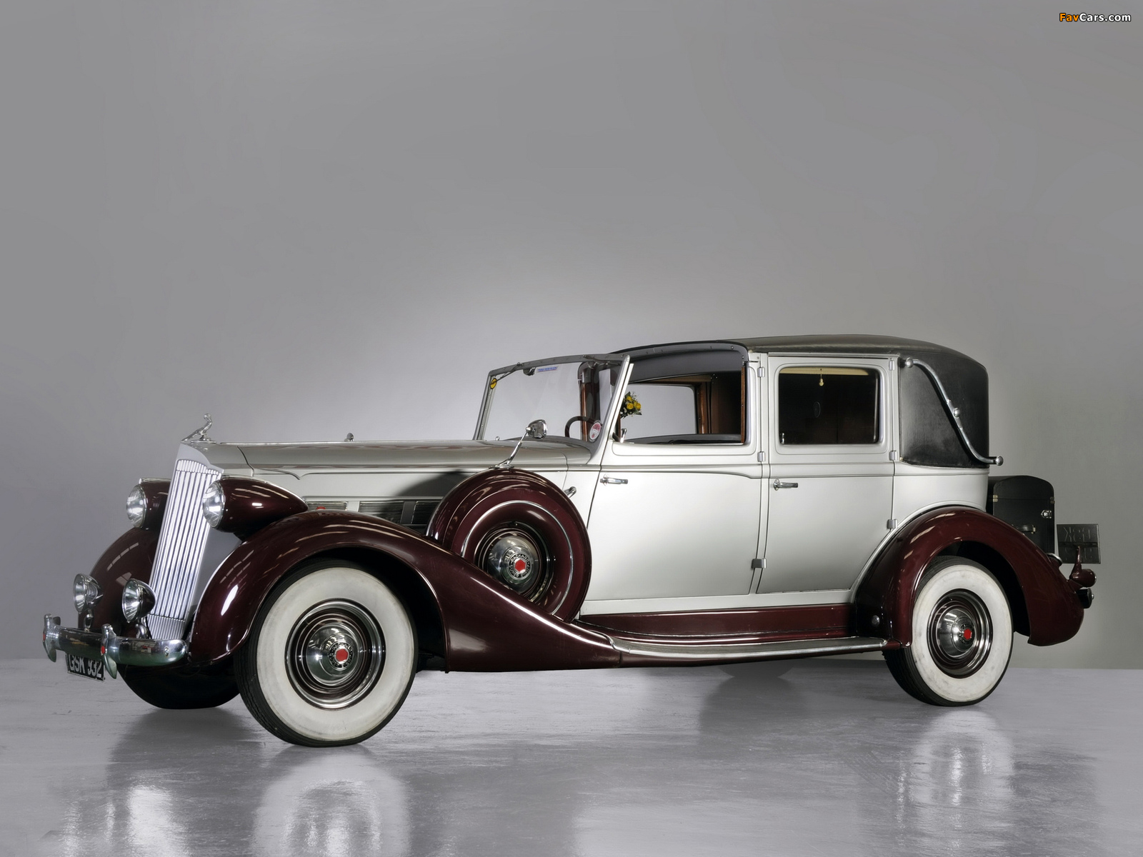 Packard Super Eight Town Car by Brewster (1501-209) 1937 wallpapers (1600 x 1200)