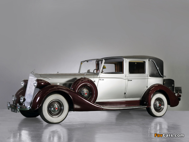 Packard Super Eight Town Car by Brewster (1501-209) 1937 wallpapers (640 x 480)