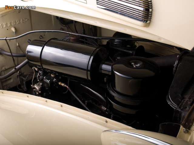 Packard Super Eight Convertible Coupe (1604-1119) 1938 wallpapers (640 x 480)
