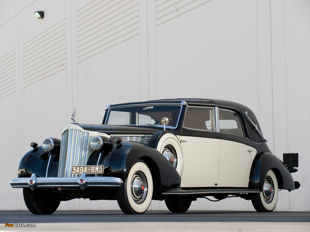 Packard Super Eight Transformable Town Car by Franay 1939 photos (1024 x 768)