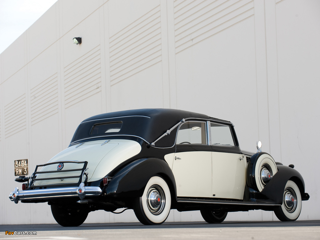 Packard Super Eight Transformable Town Car by Franay 1939 wallpapers (1024 x 768)