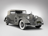 Packard Super Eight Convertible Victoria 1934 images