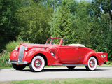Photos of Packard Super Eight Convertible Coupe (1604-1119) 1938