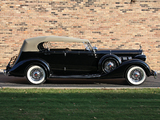 Pictures of Packard Super Eight Dual Cowl Phaeton (1404-951) 1936