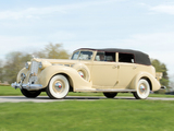 Pictures of 1938 Packard Super Eight Convertible Sedan (1605-1143) 1937–38
