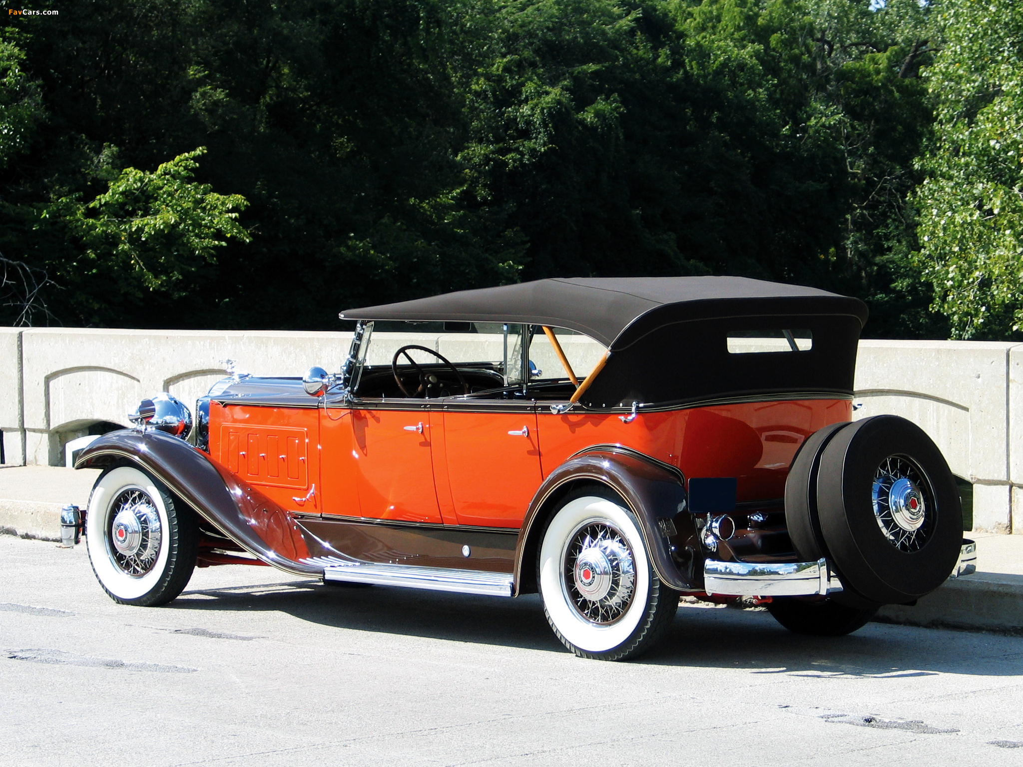 Pictures of Packard Super Eight Sport Phaeton (840) 1931 (2048 x 1536)