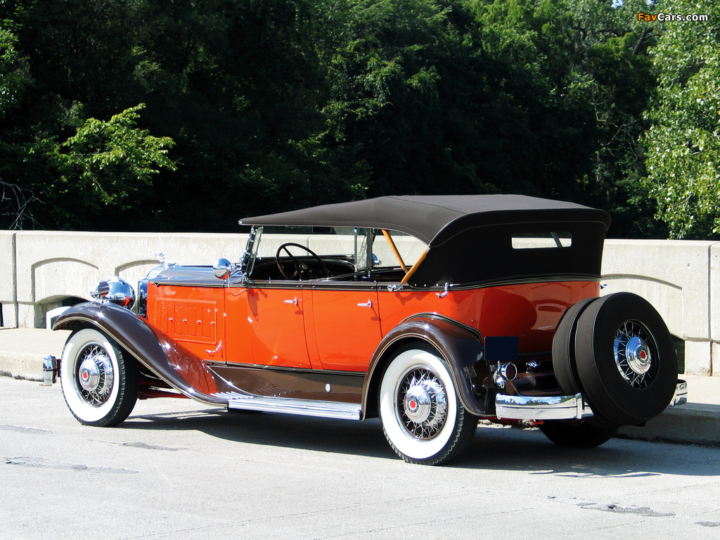 Pictures of Packard Super Eight Sport Phaeton (840) 1931 (1024 x 768)
