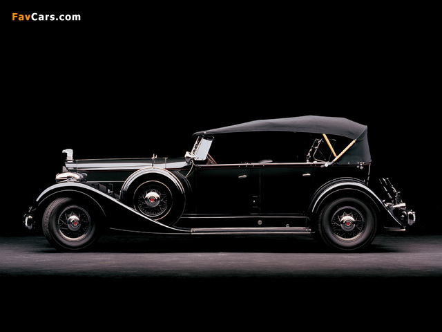 Pictures of Packard Super Eight Cowl Phaeton 1934 (640 x 480)