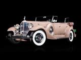 Packard Super Eight Sport Phaeton by Dietrich (1004) 1933 wallpapers