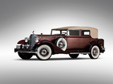 Images of Packard Twelve Convertible Sedan (1005-640) 1933
