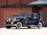 Packard Twelve Club Sedan (1005-636) 1933 wallpapers