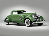 Packard Twelve Sport Coupe by Dietrich 1934 wallpapers