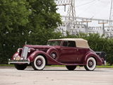 Packard Twelve Victoria Convertible by Dietrich 1936 wallpapers