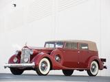 Photos of Packard Twelve Convertible Sedan by Dietrich (1208-873) 1935
