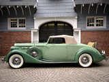 Photos of Packard Twelve Coupe Roadster (1407-939) 1936