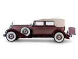 Pictures of Packard Twelve Convertible Sedan (1005-640) 1933