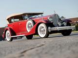 Pictures of Packard Twelve Sport Phaeton (1005-641) 1933