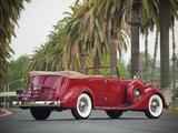 Pictures of Packard Twelve Convertible Sedan by Dietrich (1208-873) 1935