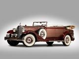 Packard Twelve Convertible Sedan (1005-640) 1933 wallpapers