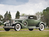 Packard Twelve Coupe Roadster (1005-639) 1933 wallpapers