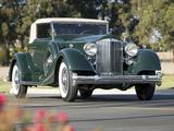 Packard Twelve Coupe Roadster (1107-739) 1934 wallpapers