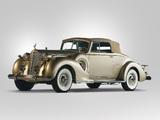 Packard Twelve Coupe Roadster (1607-1139) 1938 wallpapers