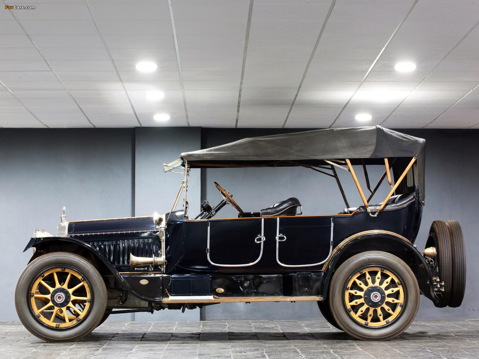 Packard Twin Six Phaeton 1916 wallpapers (1600 x 1200)