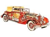 Packard Twin Six Coupe Roadster 1934 pictures