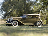 Packard Twin Six Sport Phaeton (905-581) 1932 wallpapers