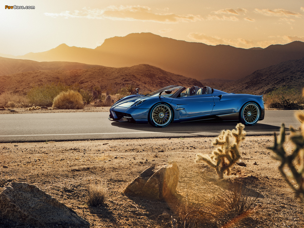 Pagani Huayra Roadster 2017 pictures (1024 x 768)