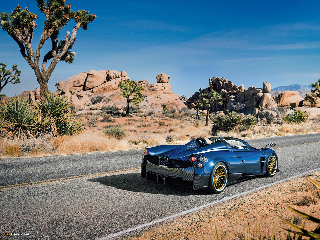 Pagani Huayra Roadster 2017 pictures (1280 x 960)