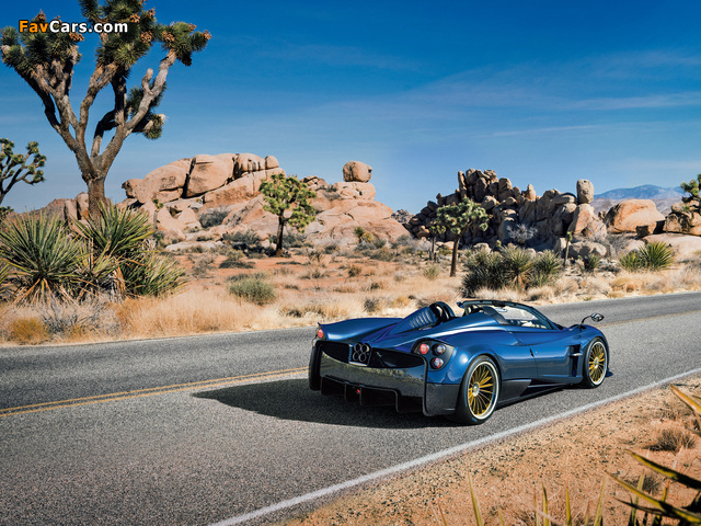 Pagani Huayra Roadster 2017 pictures (640 x 480)