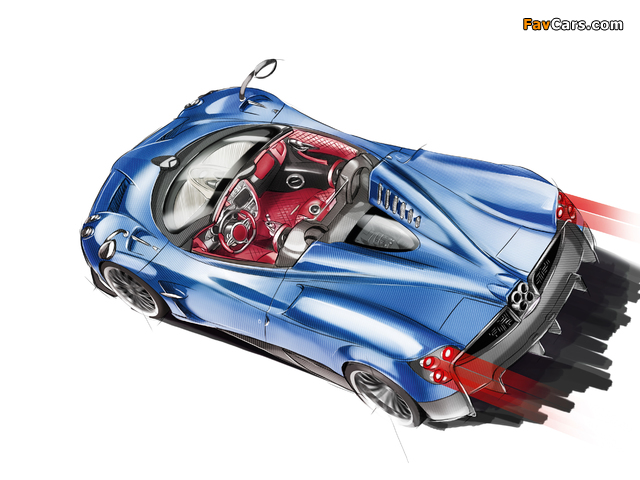Pictures of Pagani Huayra Roadster 2017 (640 x 480)