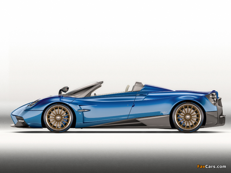 Pictures of Pagani Huayra Roadster 2017 (800 x 600)