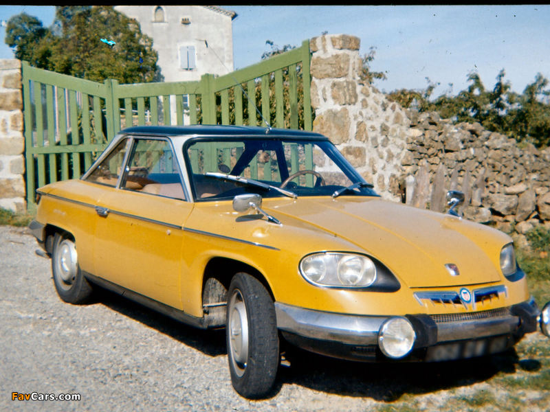 Panhard 24 CT 1963–67 wallpapers (800 x 600)